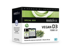VITAMINA D3 E INTEGRATORI VEGAN