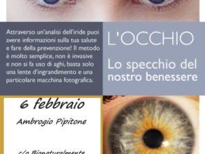 Consulenza Iridologica 6 Febbraio 2019