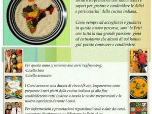 Corso di Cucina….L'India in Tavola con Priti